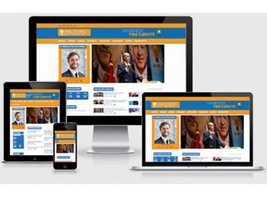 Ak Parti Aday Web Sitesi