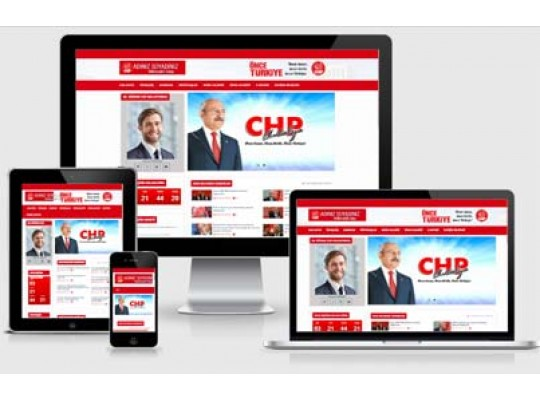 CHP Aday Web Sitesi