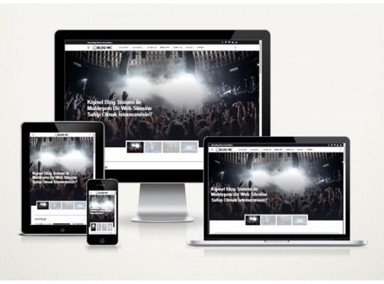 Kişisel Blog Denim v3.0