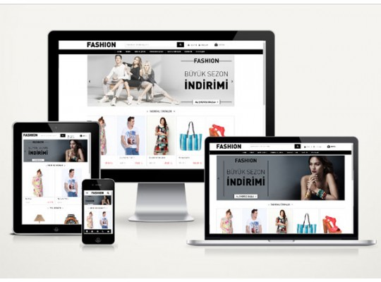 E-Ticaret Fashion v3.0