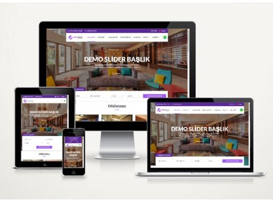 Otel Web Sitesi Garden v4.0
