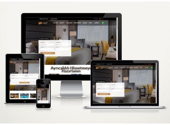 Otel Web Sitesi Stery v4.0